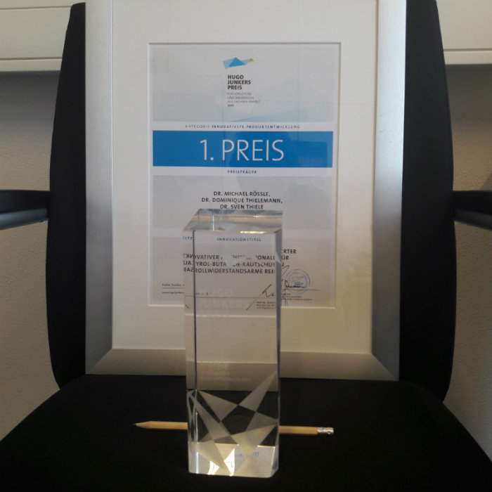 The Hugo-Junkers Preis Award