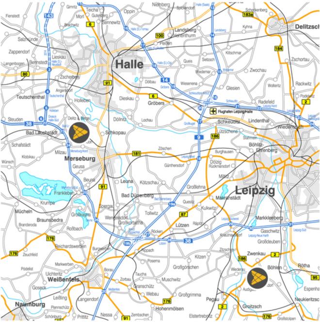 Trinseo Deutschland GmbH Map