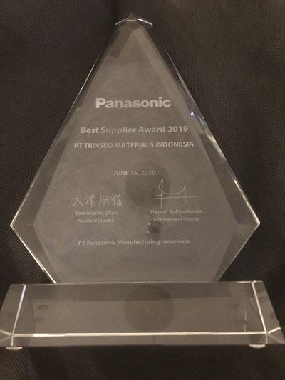 Panasonic Supplier Award