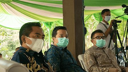 men with masks