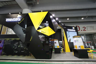 Trinseo's booth in Chinaplas 2015