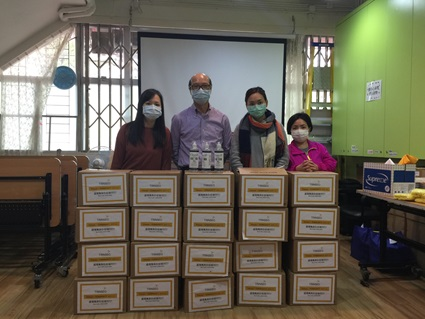 Employees with donations
