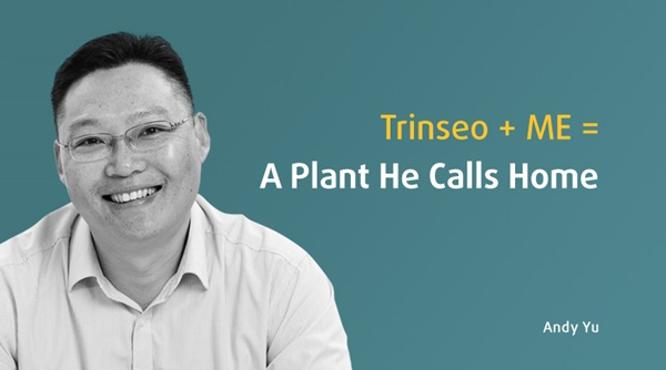 Trinseo Operations Leader Andy Yu